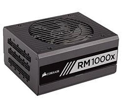 Corsair PC zdroj 1000W RM1000x modulární 80+ Gold 135mm ventilátor (CP-9020094-EU) + DOPRAVA ZDARMA