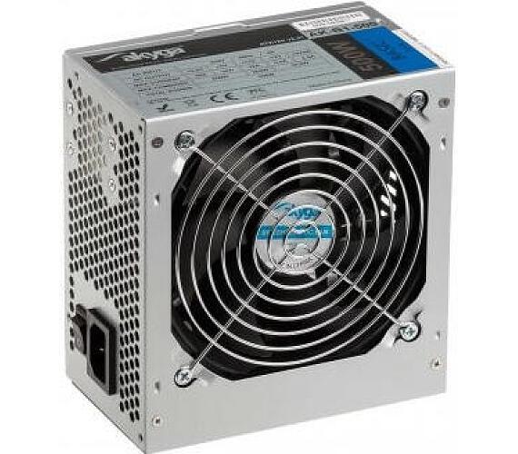 Akyga ATX Zdroj 500W Basic ventiláror 12cm P4 3xSATA PCI-E