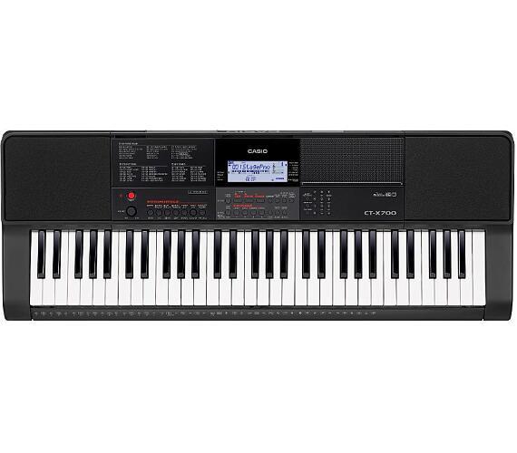 CT X700 klávesový nástroj vč ad. CASIO