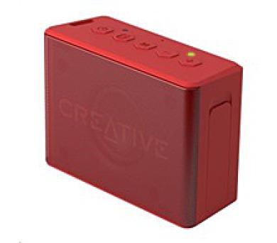 Creative repro Muvo 2C mobilní vodovzdorný bezdrátový reproduktor - červený (51MF8250AA001)