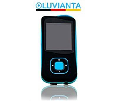 Luvianta MP3 přehrávač LUVIMP31 s pamětí - modrý