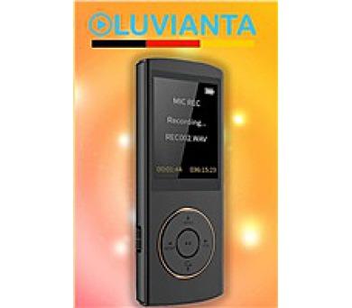 Luvianta MP4 přehrávač LUVIMP37 s pamětí 8 GB - tmavě šedý