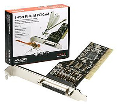 AXAGO PCI adapter 1x paralel port (PCIA-P1)