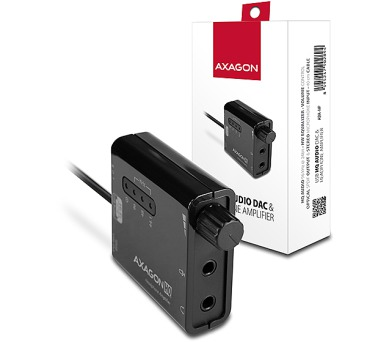 AXAGON USB2.0 - HQ audio 96kHz S/PDIF+sl. zes.