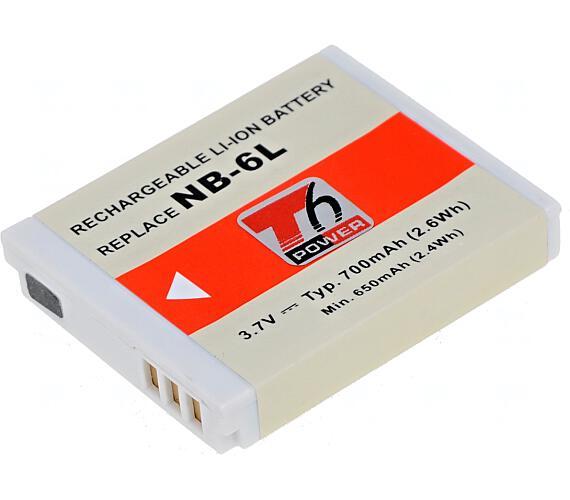 Baterie T6 power Canon NB-6L