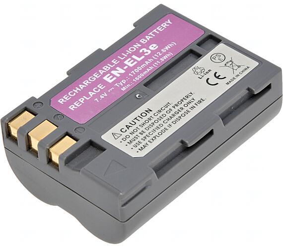 Baterie T6 power Nikon EN-EL3e + DOPRAVA ZDARMA