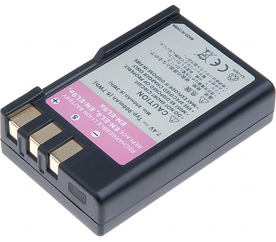 Baterie T6 power Nikon EN-EL9 + DOPRAVA ZDARMA