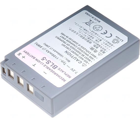 Baterie T6 power Olympus BLS-5
