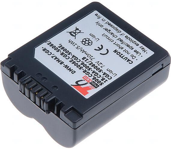 Baterie T6 power Panasonic DMW-BMA7