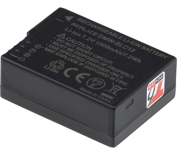 Baterie T6 power Panasonic DMW-BLC12E + DOPRAVA ZDARMA