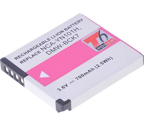 Baterie T6 power Panasonic DMW-BCK7