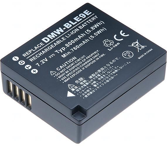 Baterie T6 power Panasonic DMW-BLE9
