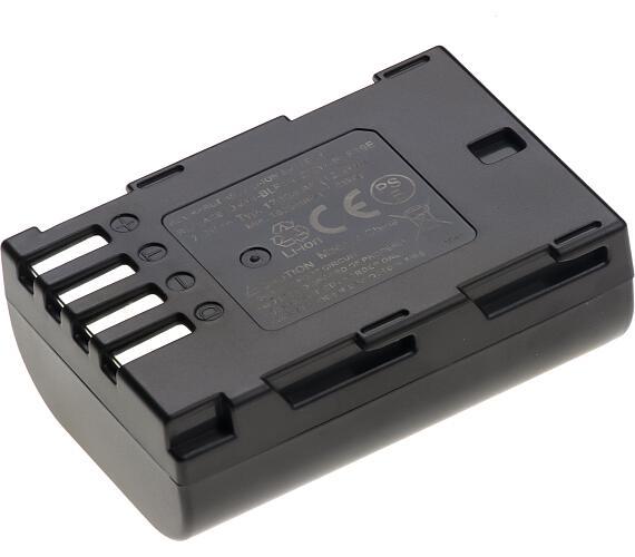 Baterie T6 power Panasonic DMW-BLF19 + DOPRAVA ZDARMA