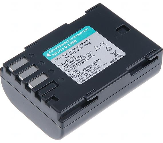 Baterie T6 power Pentax D-Li90 + DOPRAVA ZDARMA