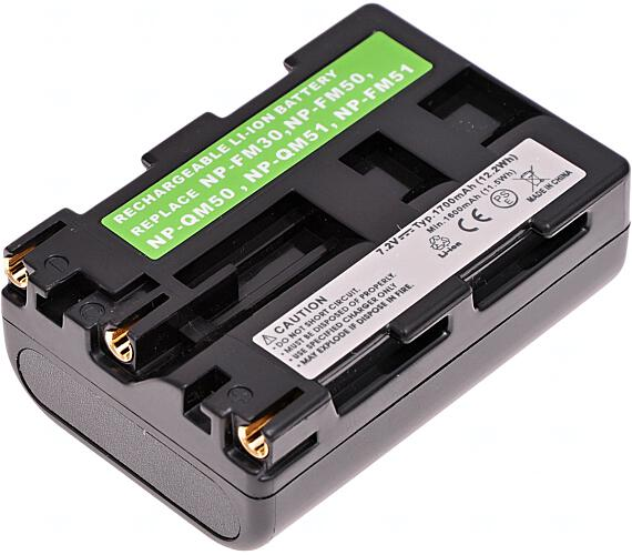 Baterie T6 power Sony NP-FM50