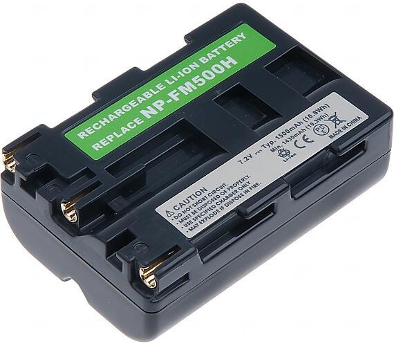 Baterie T6 power Sony NP-FM500H + DOPRAVA ZDARMA