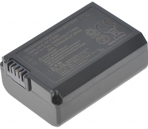 Baterie T6 power Sony NP-FW50 + DOPRAVA ZDARMA