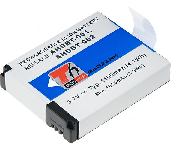 Baterie T6 power GoPro AHDBT-001