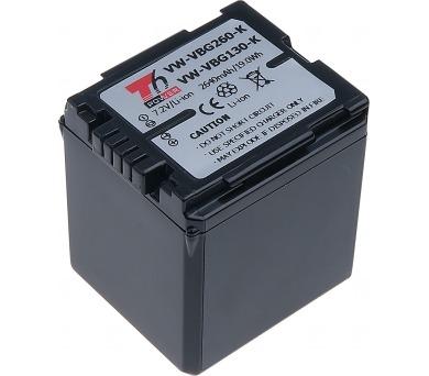 Baterie T6 power Panasonic VW-VBG260 + DOPRAVA ZDARMA