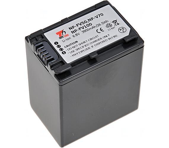 Baterie T6 power Sony NP-FV100 + DOPRAVA ZDARMA