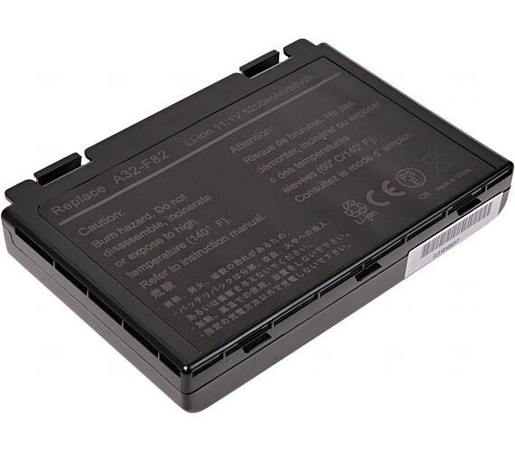 Baterie T6 power Asus K40 + DOPRAVA ZDARMA