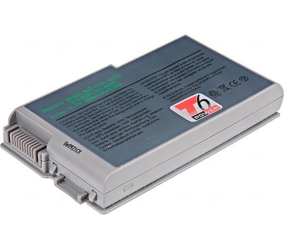 Baterie T6 power Dell Latitude D500 + DOPRAVA ZDARMA