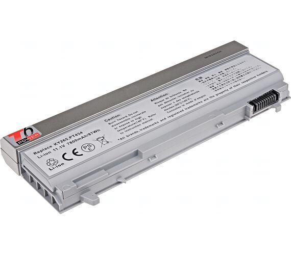 Baterie T6 power Dell Latitude E6400 + DOPRAVA ZDARMA