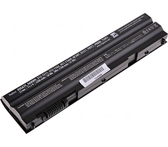 Baterie T6 power Dell Latitude E6420 + DOPRAVA ZDARMA