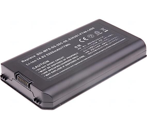 Baterie T6 power Fujitsu Esprimo Mobile X9510 + DOPRAVA ZDARMA