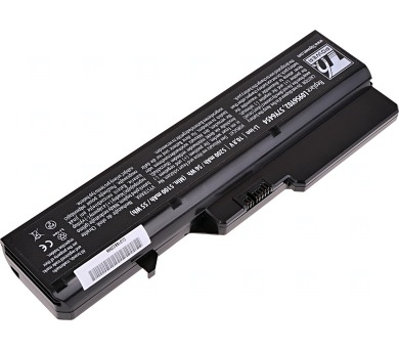 Baterie T6 power Lenovo IdeaPad G460 + DOPRAVA ZDARMA