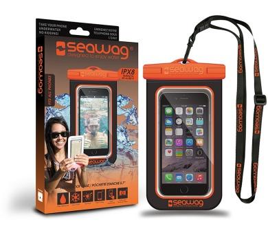 SEAWAG Voděodolné pouzdro pro telefon Černá/Oranžová