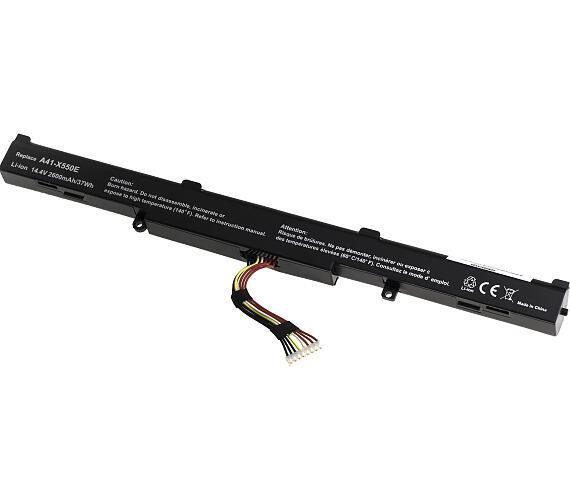 Baterie T6 power Asus X450J + DOPRAVA ZDARMA