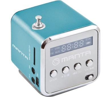 MANTA MM420 Minirádio -modré