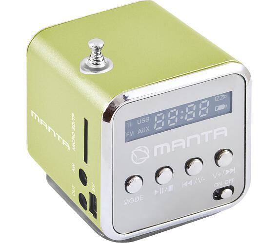 MANTA MM420 Miniradio - zelené