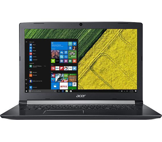 """Acer Aspire 5 - 17,3""""/i5-8250U/2*4G/256SSD/MX130/DVD/W10 černý + DOPRAVA ZDARMA"""