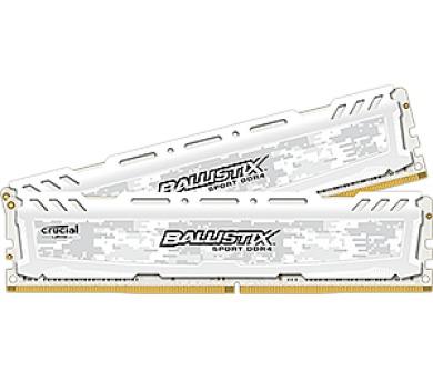 Crucial Ballistix Sport LT White CL16 SR x8 DIMM