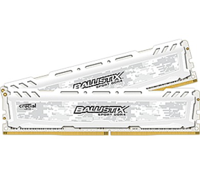 Crucial Ballistix Sport LT White CL16 DR x8 DIMM