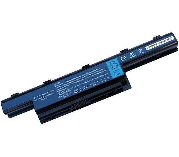 TRX baterie Acer/ 4400 mAh/ Aspire 4551/ 4738/ 4741/ 4551G/ 4771G/ 5551G/ 5741G/ 5750/ 7251/ AS10D3E