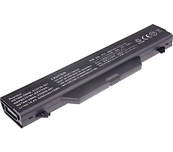 TRX baterie HP/ 6-článková/ 4400 mAh/ HP ProBook 4510s/ 4515s/ 4710s/ 4720s/ 4416s/ 4415s/ 4411s/ 4410t/ 4410s/ neorig.