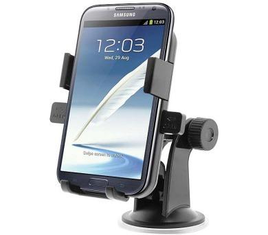 """PPYPLE univerzální držák pro telefony do auta 4"""" - 6"""" / na sklo a palubní desku"""