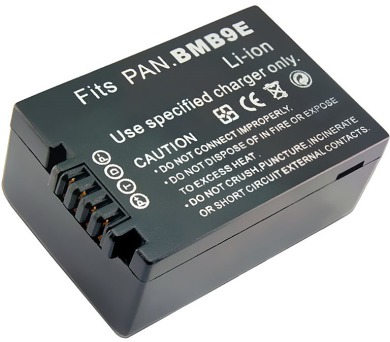 TRX baterie Panasonic/ 1000 mAh/ pro Lumix DMC-FZ100/ FZ150/ FZ40/ FZ45/ FZ47/ FZ48/ neoriginální (TRX-BMB9E)