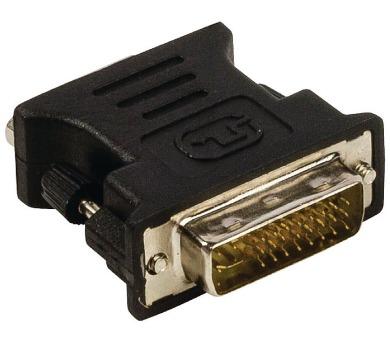 VALUELINE adaptér DVI - VGA/ 24+5pinová zástrčka DVI-I - zásuvka VGA/ černý