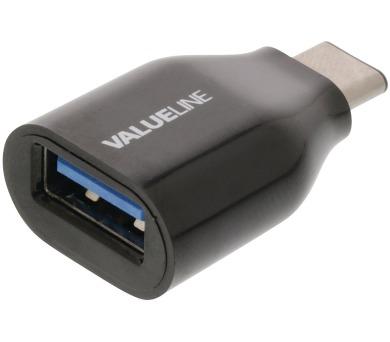 VALUELINE adaptér USB 3.0/ USB-A zásuvka – USB 3.1 (C) zástrčka/ černý (VLCP60915B)