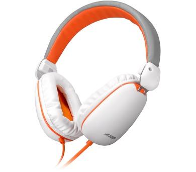 FENDA F&D headset H410M/ bílooranžový
