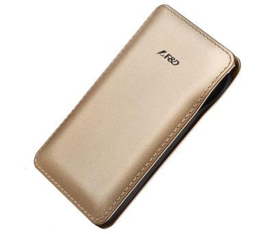 FENDA F&D Power bank Slice T2/ 8000 mAh/ zlatá/ design kůže