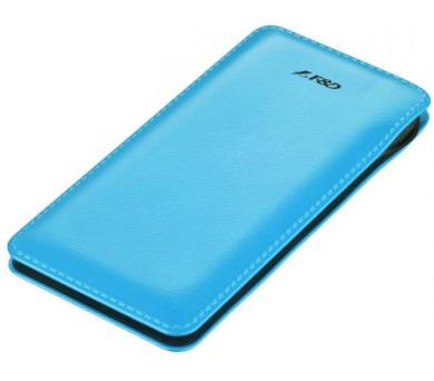 FENDA F&D Power bank Slice T2/ 8000 mAh/ modrá/ design kůže