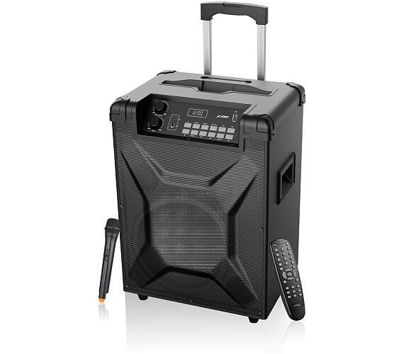 FENDA F&D párty repro T2/ trolejové/ 30W/ BT4.2/ USB přehrávání/ FM rádio/ bezdrátový mikro