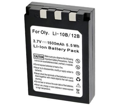 TRX baterie Olympus/ 1500 mAh/ pro LI-12B/ DB-L10B/ neoriginální (TRX-Li-10B H)