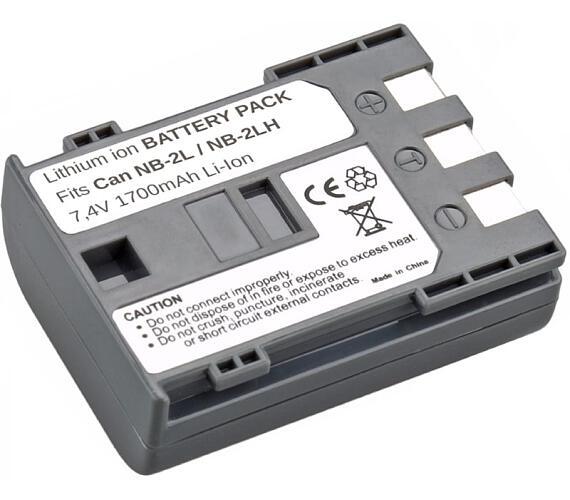 TRX baterie Canon/ 1400 mAh/ pro MV800/ MV830/ MV850i/ MV880X/ MVX200/ neoriginální (TRX-NB-2L H)