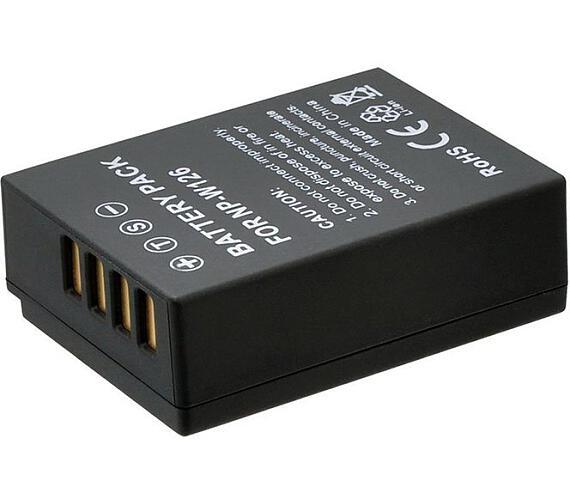 TRX baterie Fuji/ 1400 mAh/ pro FinePix HS30(EXR)/ HS33EXR/ HS35EXR/ HS50EXR/ X-A1/ X-E1/ X-E2/ X-M1/ neoriginální